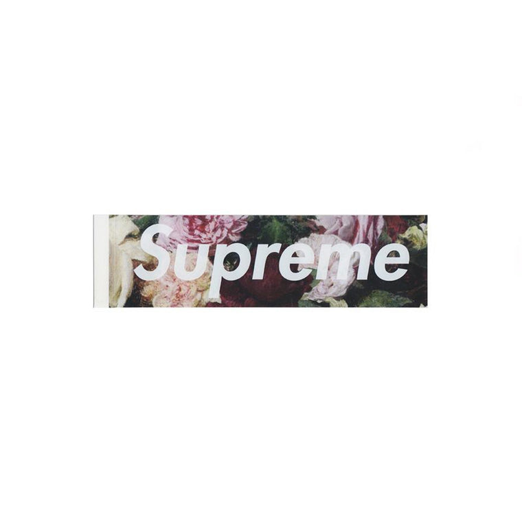SUPREME PCL FLOWER BOX LOGO STICKER