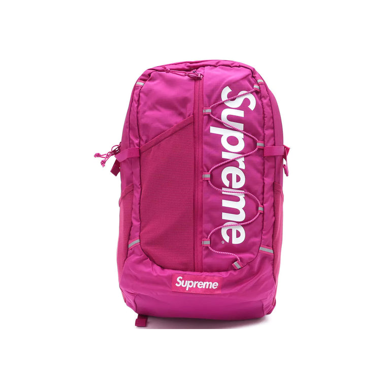 SUPREME SS17 MAGENTA BACKPACK (NEW)