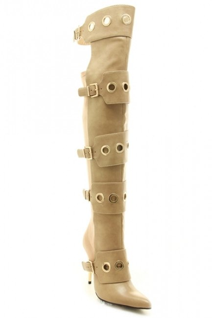 Disturbia - Taupe (FINAL SALE) - BlaMer Shoes