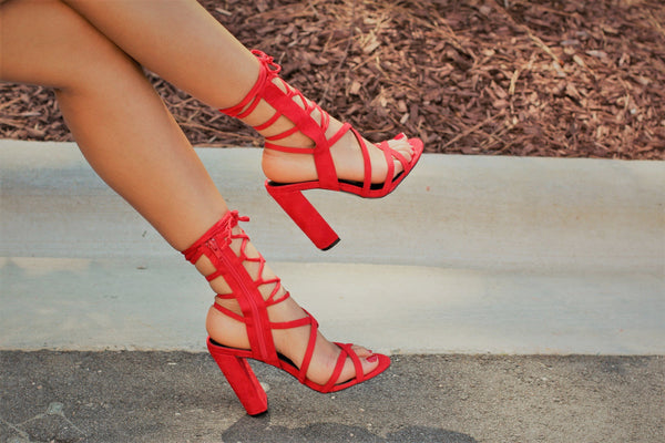 Arian - Red - BlaMer Shoes
