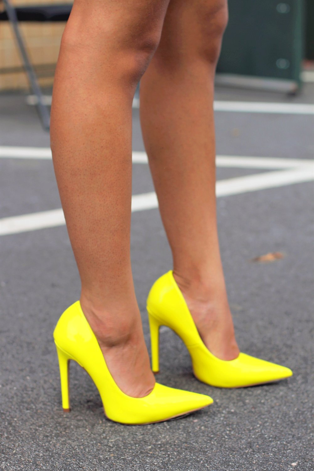 Milly - Yellow - BlaMer Shoes