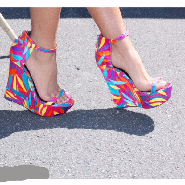 Kylie - Multi (FINAL SALE) - BlaMer Shoes