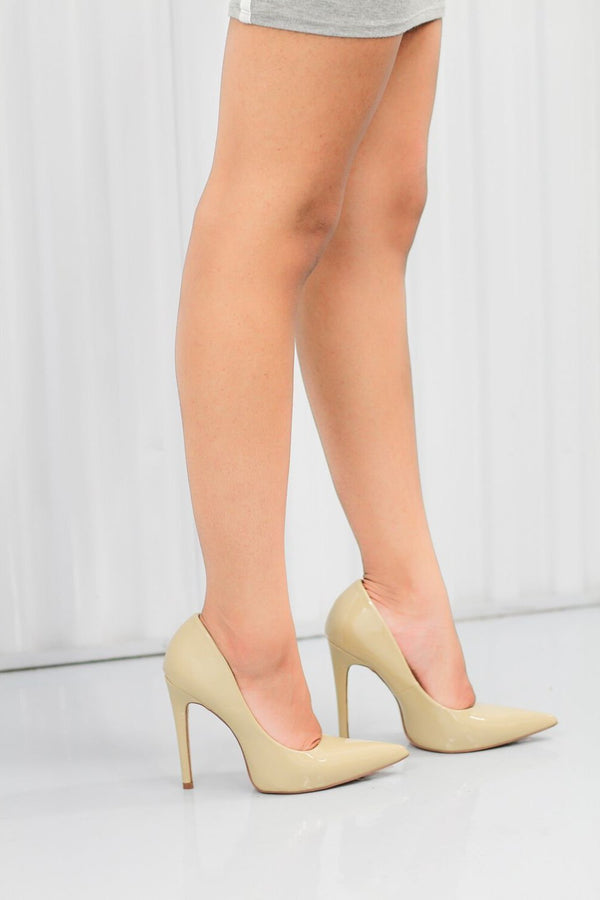 Milly - Nude - BlaMer Shoes