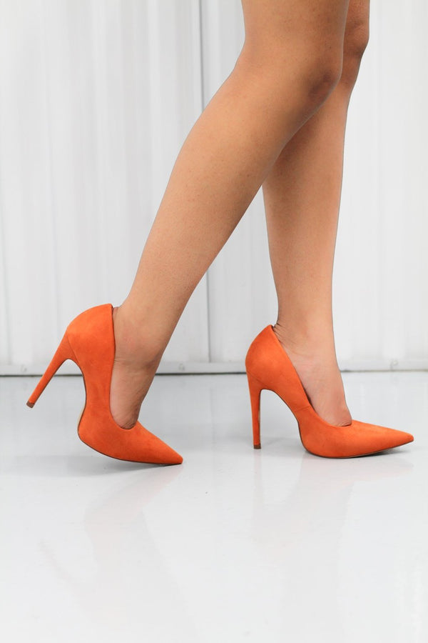 Milly - Orange - BlaMer Shoes
