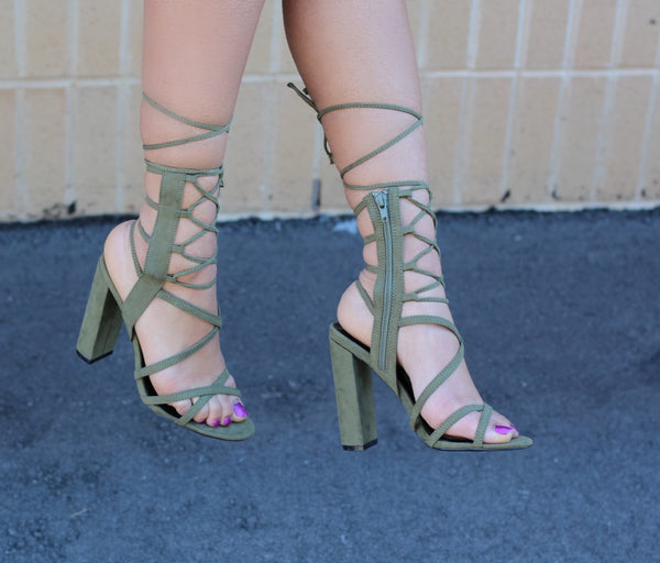 Arian - Olive - BlaMer Shoes