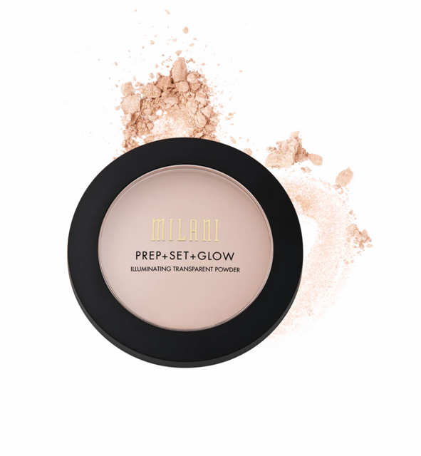 PREP + SET + GLOW ILLUMINATING TRANSPARENT FACE POWDER