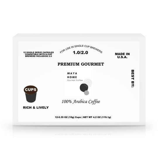 60 Pack Single Serve Coffee Capsules