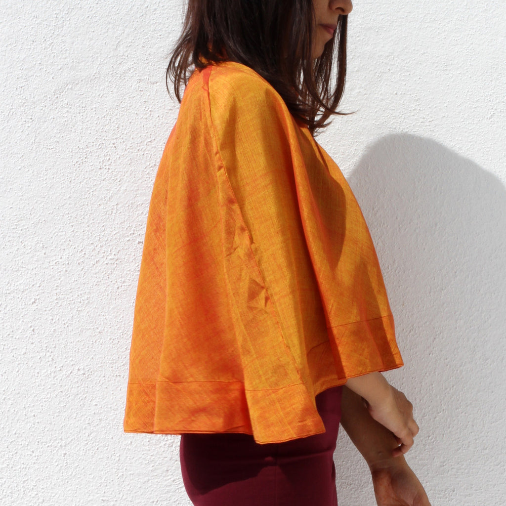 Flared cape - shopdori