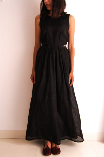 Black maxi dress - shopdori