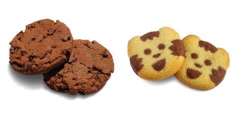 Organic little tiger biscuits from France (vanilla & chocolate) and Organic Chocolate Cookies from France