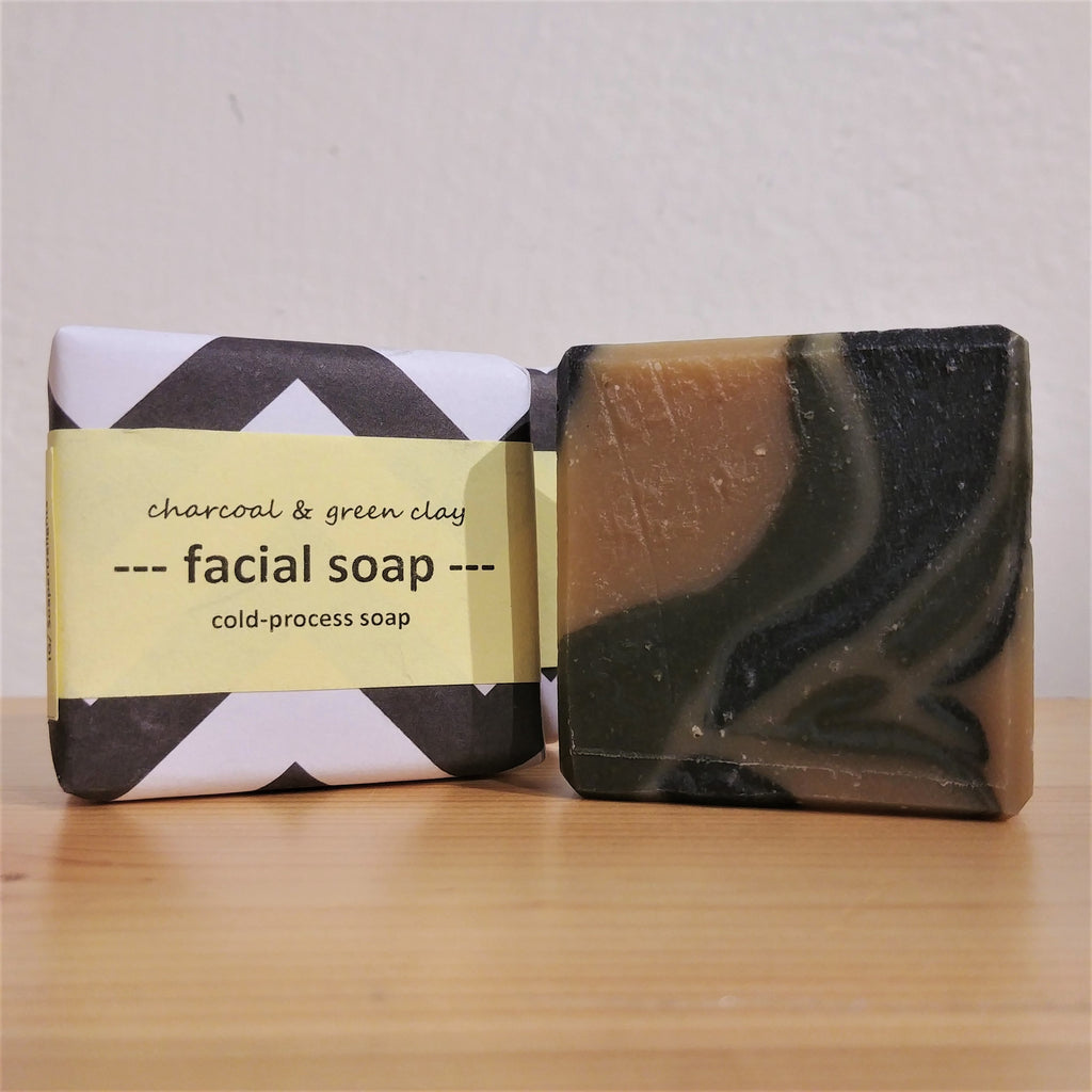 Soaper Delight - Facial Soap (Charcoal & Green Clay) 35g 戰痘控油洗臉皂