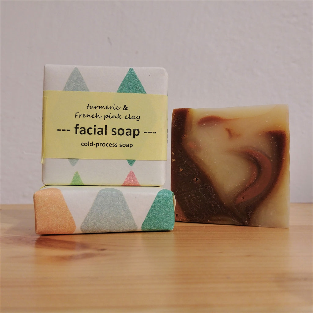 Soaper Delight - Facial Soap (Turmeric & French Pink Clay) 35g 亮澤洗臉皂