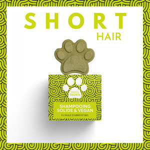 Pepet's - Solid Shampoos for Dogs - Short Hair (Courts)