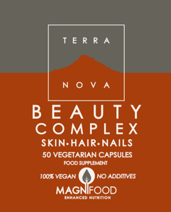 Terranova - Beauty Complex   SKIN  HAIR  NAILS - 50 caps - MAGNIFOOD SPECIFIC HEALTH SUPPORT