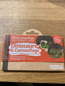 Kit 3 colors dinosaur & camouflage