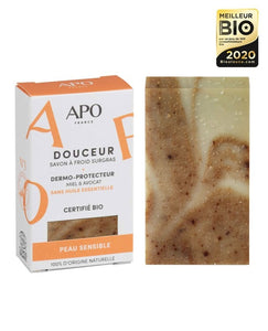 APO - Soft soap - Honey and avocado - fragrance free - 100g