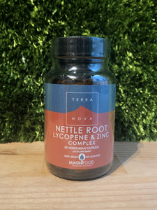 Terranova - Nettle Root, Lycopene & Zinc (Prostate Support) Complex - 50 caps - MAGNIFOOD SPECIFIC HEALTH SUPPORT