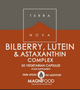 Terranova - Bilberry, Lutein & Astaxanthin (Eye Support) Complex   - 50 caps - MAGNIFOOD SPECIFIC HEALTH SUPPORT