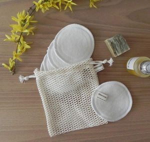 Alterosac - Makeup Remover Rounds with Storage Net from France