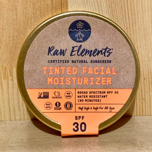 Raw Elements Tinted Facial Moisturizer SPF30