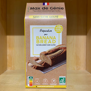 Max de GŽnie - Organic preparation low GI - Banana Bread gluten free - 200g