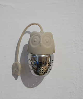 Stainless Steel Tea Infuser with Silicone Cover - Owl