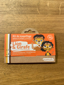 Kit 3 colors Lion & Giraffe