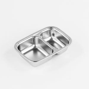 Cuitisan - Partition Stainless Microwave-safe Lunch Box - Rectangle No. 3 (700ml)