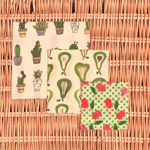 Superbee - Beeswax Food Wrap Set (3pc) 初學者蜂蠟布三件套裝