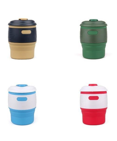 Foldable Flip Cap Cup 350ML