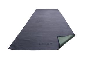 Léger - Eco-Vegan Suede Yoga Towels made from Recycled Plastic Bottles