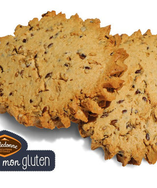 Organic sable Multi-grains biscuits - Gluten Free (linseed, sunflower seed, sesame)