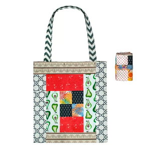 Superbee Patchwork Tote Bag