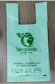 "GoGreen - Biodegradable and compostable ""PLA"" Shopping bags - 50pc"