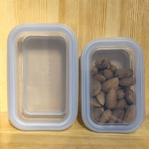 Platinum Silicone - Rectangle Food Container