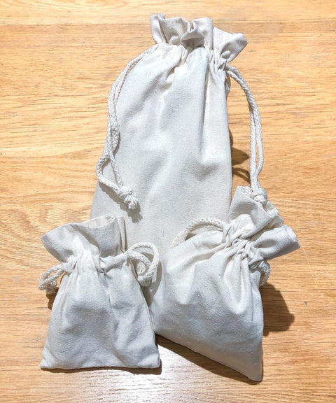 Cotton beam bags (for food) 可重用棉布袋
