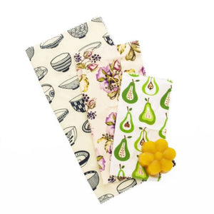 DIY Beeswax Wraps Kit DIY蜂蠟布套裝 - Do your own beeswax food wrap !