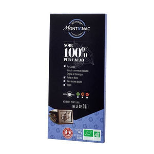 Montignac Méthode -  100% Pure Cacao Bar - Organic & Fair Trade