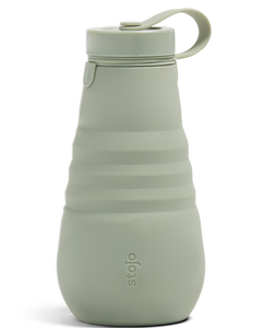 Stojo Bottle - 20oz/590ml - Collapsible bottle in Silicone