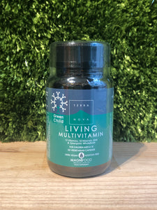 Terranova - Green Child Living Multivitamin - 50 caps - GREEN CHILD CHILDREN'S SUPPLEMENTS