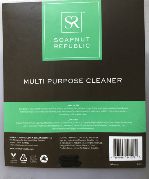 Soapnut Republic Multi-Purpose Cleaner Liquid (Bulk)