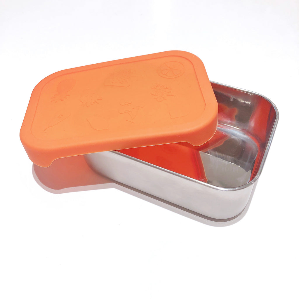 Stainless Steel Container with Silicone Cover