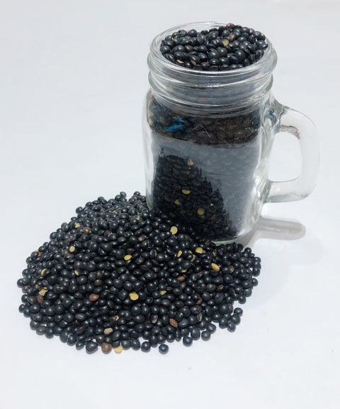 Organic Black Lentils from France
