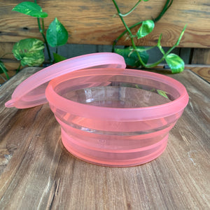 Platinum Silicone - Round Food Container