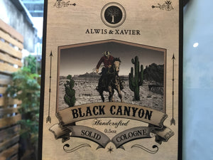 Alwis & Xavier Solid Cologne - Black Canyon