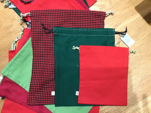 Stitch Up- Upcycled Christmas Bag
