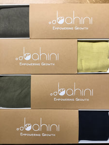 Bahini Bamboo Linen Scarf (Nature Collection)