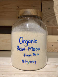 Organic Raw Maca Power from Peru