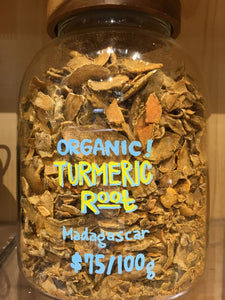 Organic Turmeric (root) from Madagascar