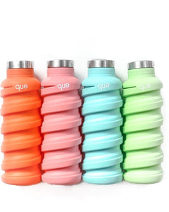 Qué - Silicone Collapsible Bottle -  600ml (20oz)